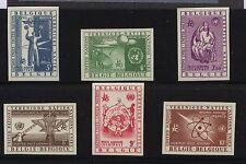 Belgium  C15-20  imperforate stamps  unused      AP0318