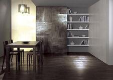 1 Piastrella campione effetto legno metallizzato gres Tagina Lignite grigio