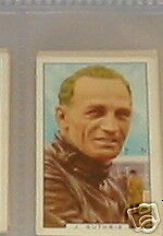 #24 Jimmy GUTHRIE Moto Racing Sport Carte de cigarette