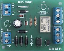 GBM-R, binario rilevatore di occupato con relè, per tutti i tipi di corrente. giusti