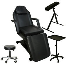 Tattoo Package Electric Massage Table Chair Arm Bar Tray Salon Studio Equipment
