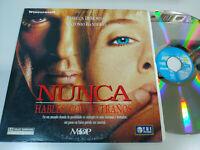 Nunca Hables con Extraños Antonio Banderas Rebecca Demornay Laserdisc LD ESPAÑOL