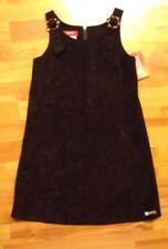 ESPRIT Boutique Girls Sz. 8 Pincord Plum Jumper / Dress BTS!