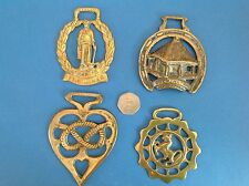 CORNISH TIN MINER, COCKINGTON FORGE, LUCKY KNOT, REARING HORSE BRASSES-METALWARE