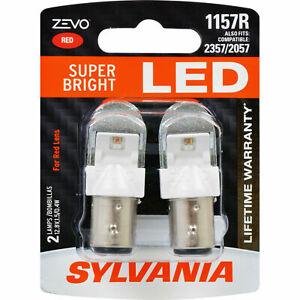 Sylvania ZEVO LED Light 1157 1157R Red 2 Bulbs DRL Daytime Running 2357/2057