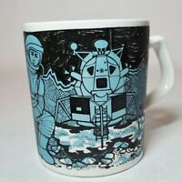 Staffordshire Potteries Apollo 11 Moon Landing Commemorative Mug 1969 RARE