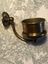 Antique Brass Bathroom Tumbler Holder - Vintage