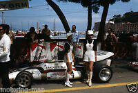 YARDLEY BRM MONACO GRAND PRIX JO SIFFERT 1971 GP F1 PHOTOGRAPH SLIDE PIT GIRLS