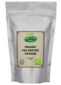 Organic Pea Protein Powder 250g Certified Organic