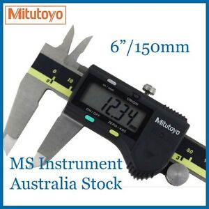 "Genuine NEW Mitutoyo  6""/150mm Digital Calipers  500-196-30 Australia Stock"