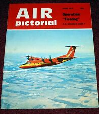 Air Pictorial 1975 June Malaya,DHC-7,Hiller,RAF 111 Squadron