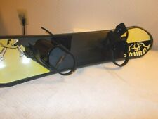 """42"""" Long Full Core Snowboard With Bindings Classic 8"""" to 9"""" Wide"""