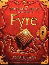 Septimus Heap, Book Seven: Fyre-ExLibrary