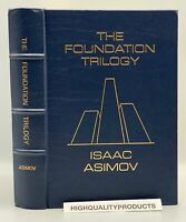 SIGNED Easton Press FOUNDATION TRILOGY Isaac Asimov Collectors LIMITED Edition