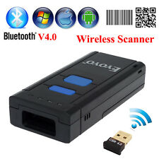 Wireless 2D Barcode QR Code Scanner  Bluetooth USB For iOS Android Tablet PC su