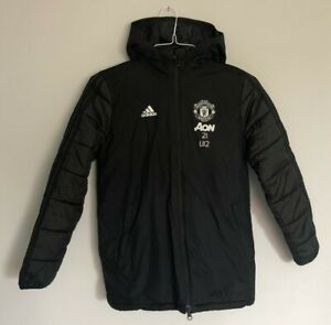 Manchester United winter jacket size 11-12 years Adidas 2019-2020