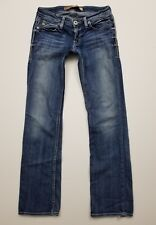 Big Star Sweet Boot Jeans Ultra Low Rise 26 X 30 Tiny Hole Pre-owned Denim