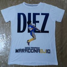 MAGLIA t-shirt BOCA JUNIORS MARADONA TAGLIA L ARGENTINA NAPOLI NUOVA