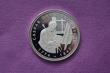 Medaille Silber Deutschland Maler Zeichner Caspar David Friedrich 1774 - 1840