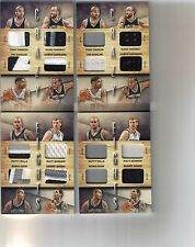 2) 14/15 Preferred Crazy Eights Spurs Booklet 4 Clr Patch #/25 #/99 Lot Duncan