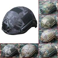 Tactical Airsoft Paintball Protective Combat FAST Helmet Riding Climbing Hot #E
