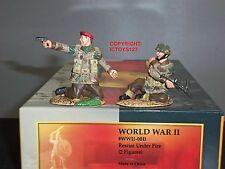 CONTE WW2-011 BRITANNIQUE PARATROOPERS SECOURS UNDER FIRE JOUET SOLDAT