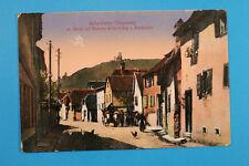 Alsace Bas-Rhin Alsace 67 AK CPA cisaillement Weiler 1916 SCHERWILLER Rue Maison Vosges