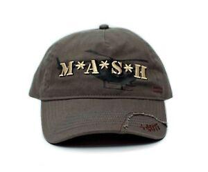 MASH Medi-Vac Logo Hat Olive Green Adjustable Cap M*A*S*H