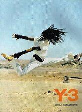 Publicité advertising 2004 Les Vetements de sport Adidas Y-3 Yohji Yamamoto