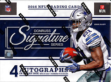 2016 PANINI DONRUSS SIGNATURE SERIES FOOTBALL HOBBY SEALED BOX - IN STOCK!
