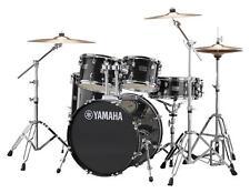 """Yamaha Rydeen RDP2F5 Black Glitter Schlagzeug 22"""" Drum Hardware Paiste Becken"""