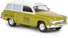 """Wartburg 311 Familiare """"Progresso"""" verde,H0 Auto Modello 1:87,Brekina 27189,TD"""