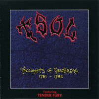 T.S.O.L. & Tender Fury ‎– Thoughts Of Yesterday 1981-1982 & Tender Fury CD Rare