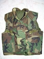 US Army PASGT Kevlar Weste Body Flag Vest woodland camouflage