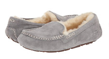 NIB UGG Women's Ansley Sheepskin Slippers in Light Gray