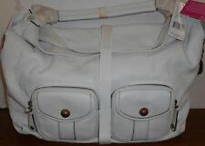 NEW WITH TAGS BCBGirls HOBO HAND BAG. WHITE $188.00