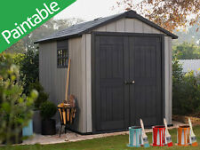 Keter Oakland 759 Garden Shed Resin 2.29m x 2.87m -  10 Year Warranty
