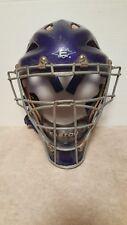 Easton Stealth baseball softball catchers gear hockey style helmet Blue Large!