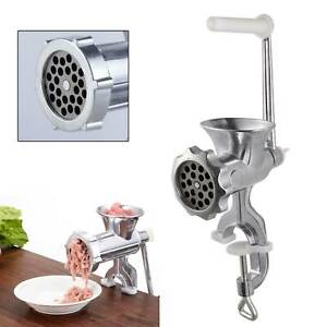 Hand Operated Meat Mincer Heavy Duty Grinder Manual Hand Operated Kitchen Beef