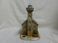 Limited Edition Lefton Grand Island East Channel Michigan Lighthouse Lights Up