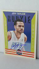 2012-13 Panini Past and Present signatures #199 Jeff Taylor RC (bobcats)