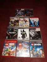 Lot Of 11 Ps3 Games PlayStation 3 Great Games All Work Good Condition