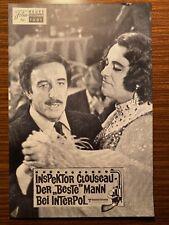 """Neues Film-Programm Nr. 7091: Inspektor Clouseau, der """"beste"""" Mann bei Interpol"""