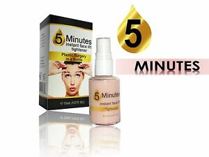 """5 MINUTES INSTANT LIFT """"Plastic Surgery in a bottle"""" large pores sagging tighten"""