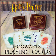 Harry Potter Hogwarts Crest Playing Cards in Tin good Stocking Filler Gift