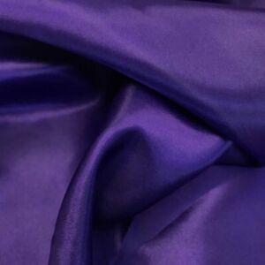 60 Inch Satin Fabric 2 Way Slight Stretch Charmeuse Satin Soft Silky By The Yard