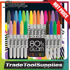 Sharpie 24 Piece 80's Glam Limited Edition Permanent Texta Pen Markers 31993