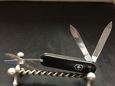 Victorinox Pocket Knife Black Handle Swiss Army Victorinox Pocket Knife