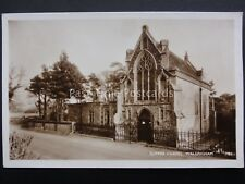 Norfolk WALSINGHAM Slipper Chapel - Old RP Postcard by M & L National Series 18