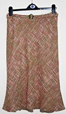 Vintage Style Kaliko Skirt Size S Khaki Long Acrylique Blend Fashion Designer
